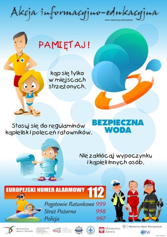 """Letnia edycja akcji """"Bezpieczna Woda 2015"""""""